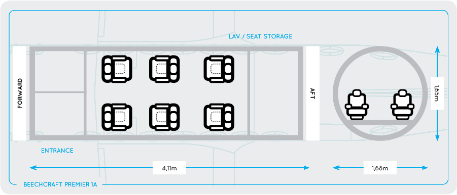 beechcraft-premier-1a-seating