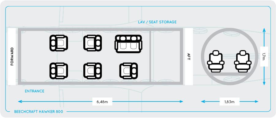 hawker-800-seating